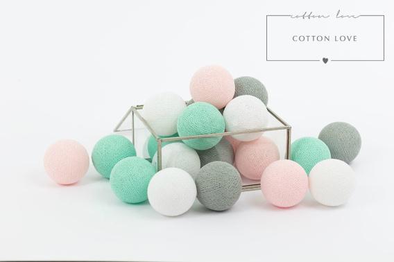 cotton ball lights Mariposa