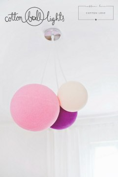 Cotton Ball Lamp XL 41 cm !!! Nowa cena